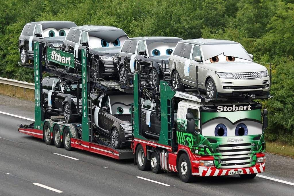 Pin by VillanyVitrin on TransportLogistics Car carrier