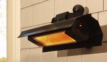 Delightful Wall Mounted Infrared Patio Heater