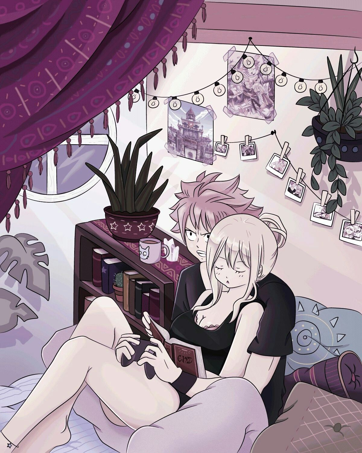 Pin by Ella Lindfors on NALU | Fairy tail, Fairy tail guild, Fairy