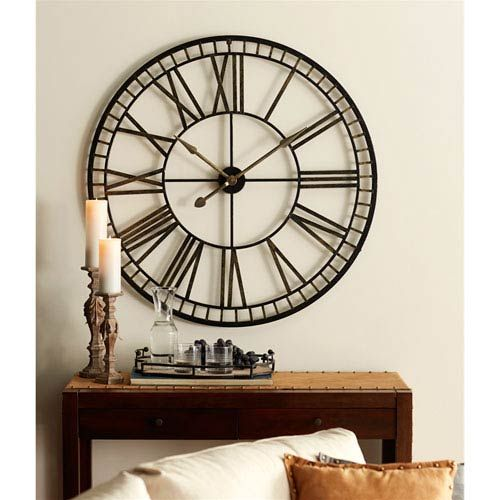 Amazon Com Aililife 3d Diy Wall Clock Decor Sticker Mirror