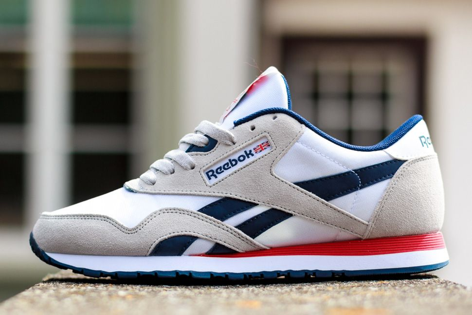 newest e5a3d 4497f Reebok Classic Nylon SP (Steel Grey, Navy   Red) - EU Kicks  Sneaker  Magazine