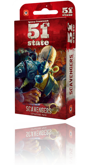 Show details for 51st State: Scavengers [Expansion]