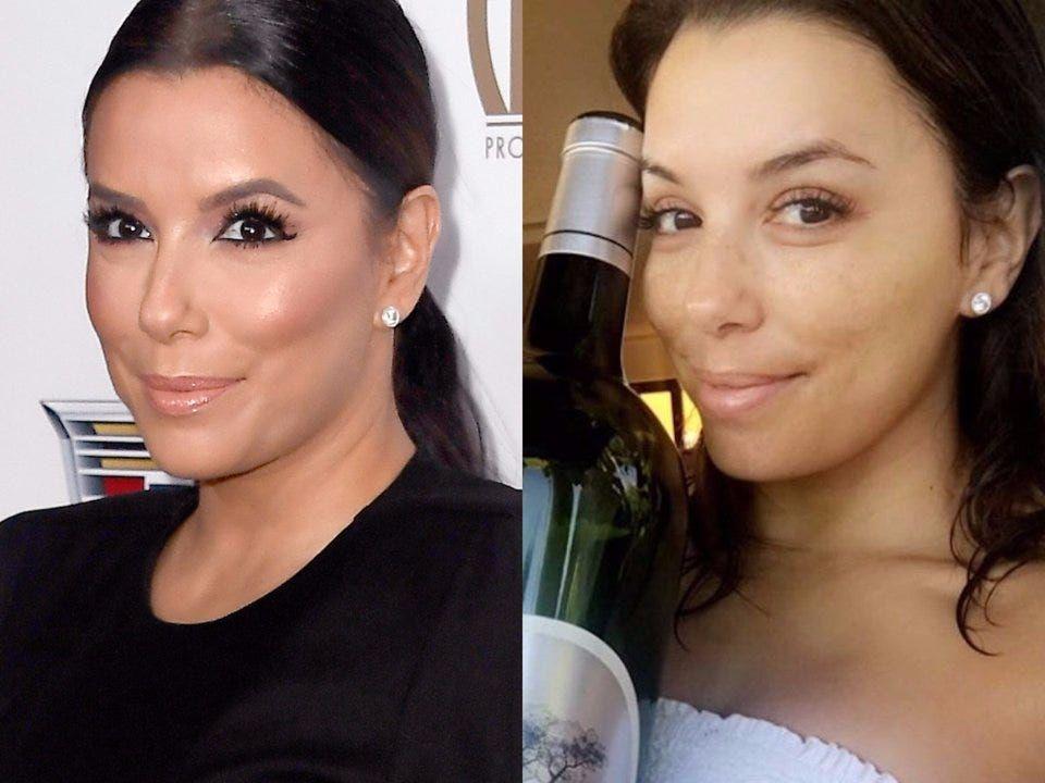 Photos What Actresses Look Like Without Makeup Business Insider In 2020 Celebs Without Makeup Without Makeup Eva Longoria No Makeup