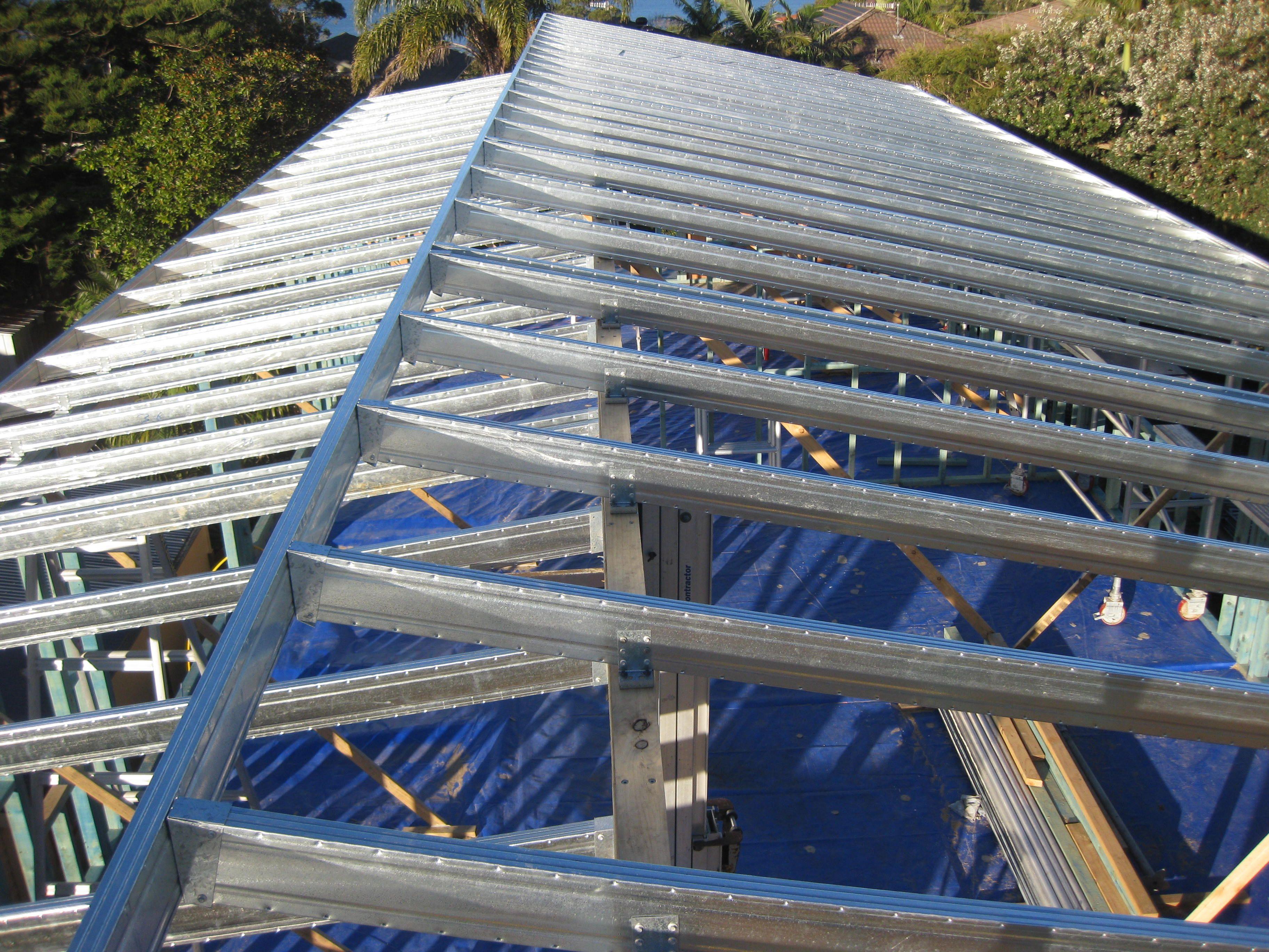 Spantec Boxspan roof frame. | Steel | Pinterest | Mobile house ...
