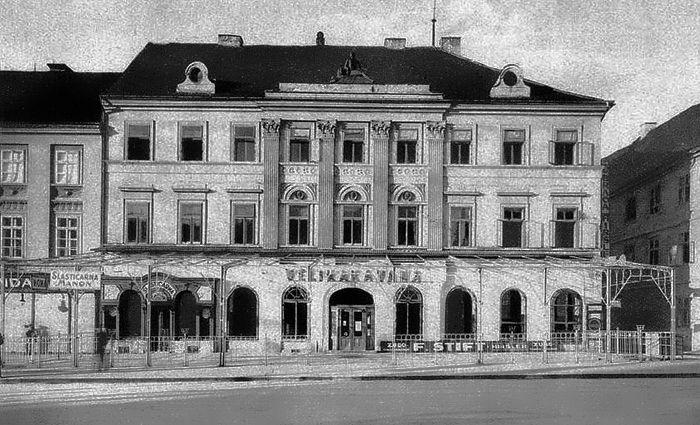 Zagreb 1928 Trg Bjj Velika Kavana Zagabria Villa
