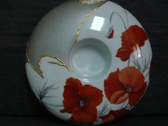 Galerie Photos Porcelainement Votre Peinture Sur Porcelaine Peinture Porcelaine Peinte