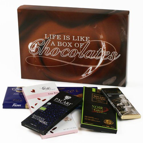 Chocolate Bars of the World Gift Box...