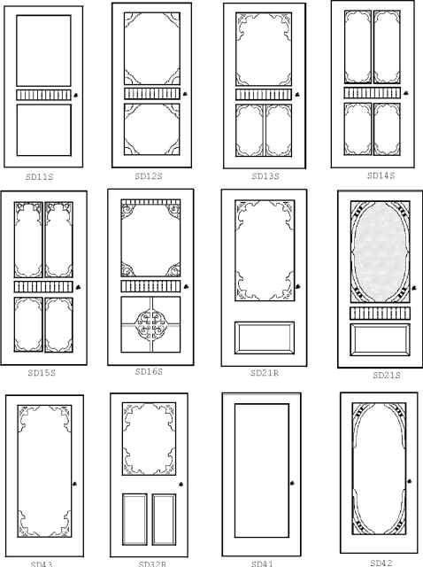 Door Templates - Interactive House Custom Doors : i-hate-computers