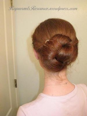 The Daisy Bun #hair