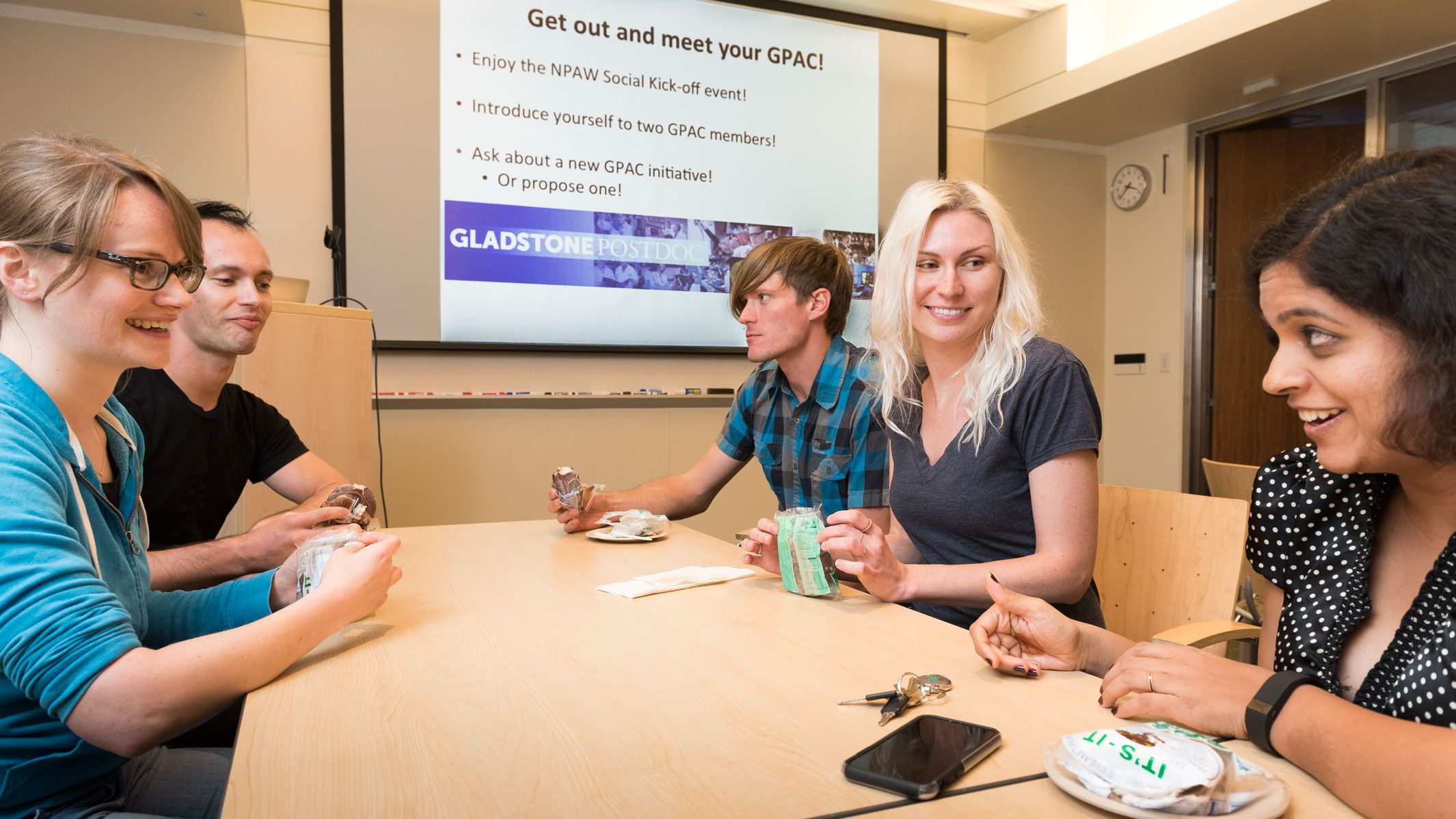 Gladstone celebrated National Postdoc Appreciation Week by recognizing the hard work and dedication of its postdocs who are the major engine that drives scientific research at Gladstone | Gladstone Institutes – Science Overcoming Disease