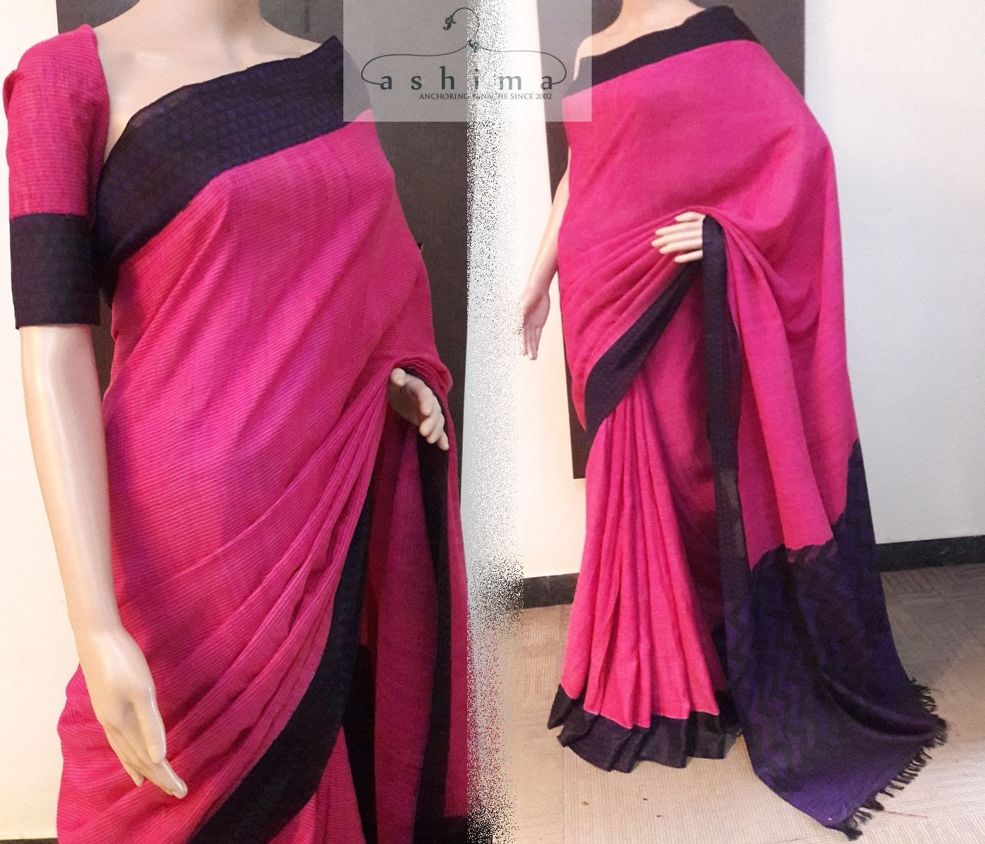 Code price inr cotton saree with pure silk border