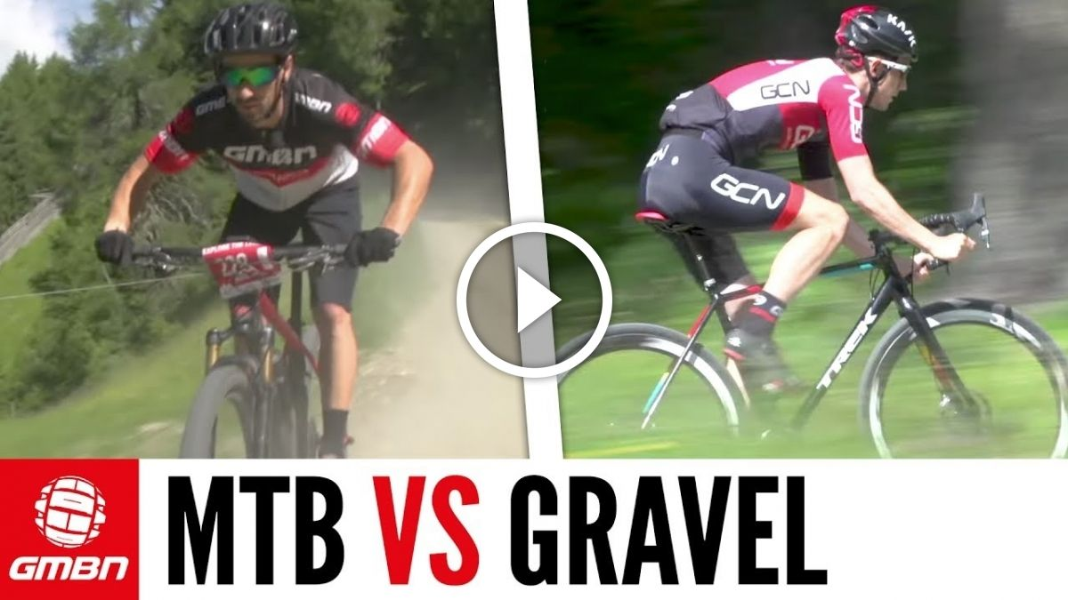 38cd8c369f2 Watch: Mountain Bike VS Gravel Bike - Which Is Faster | Mountain ...