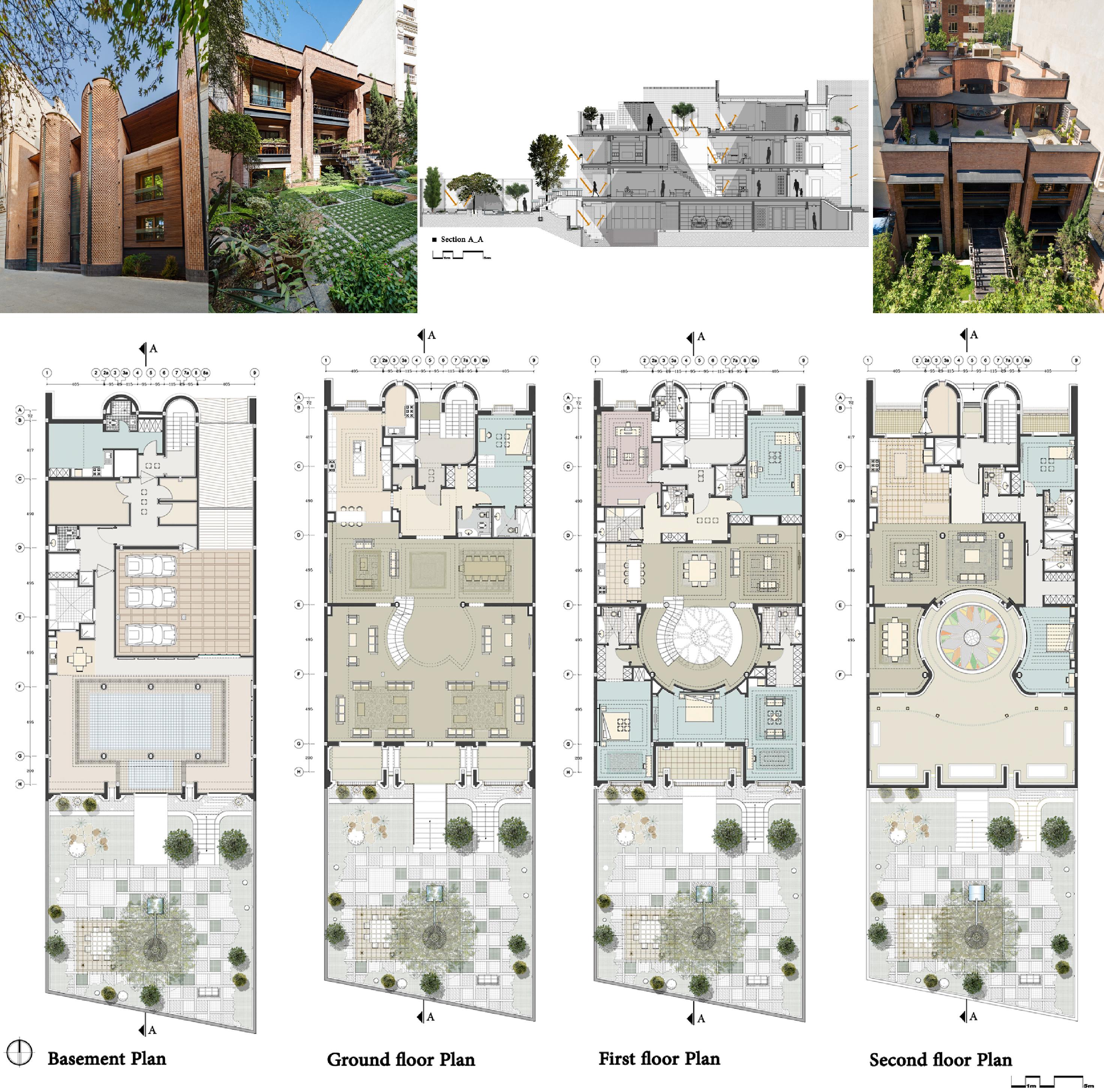 Renovacion De Una Casa En Kaveh Teheran Pargar Architecture And