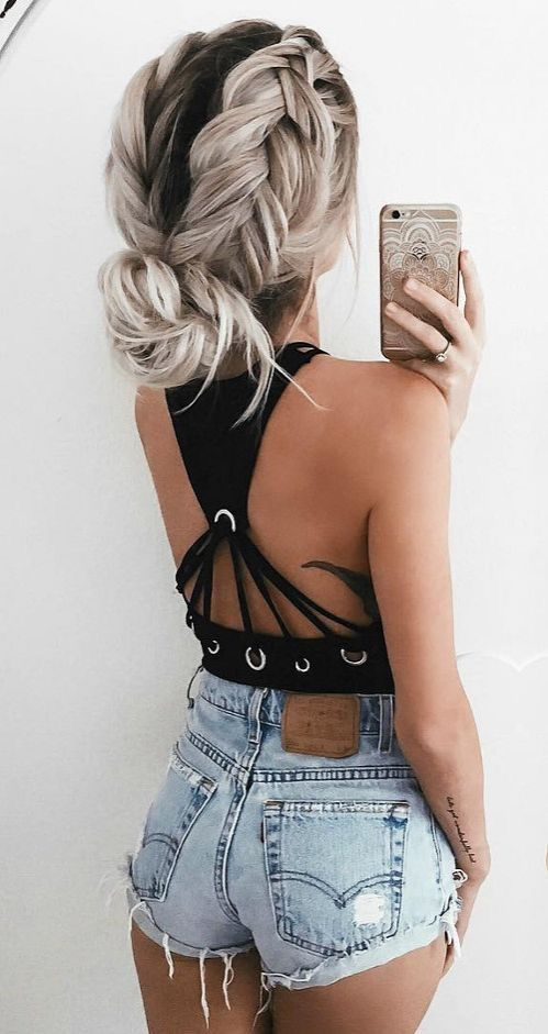 ➳♡ #blackhairstyles