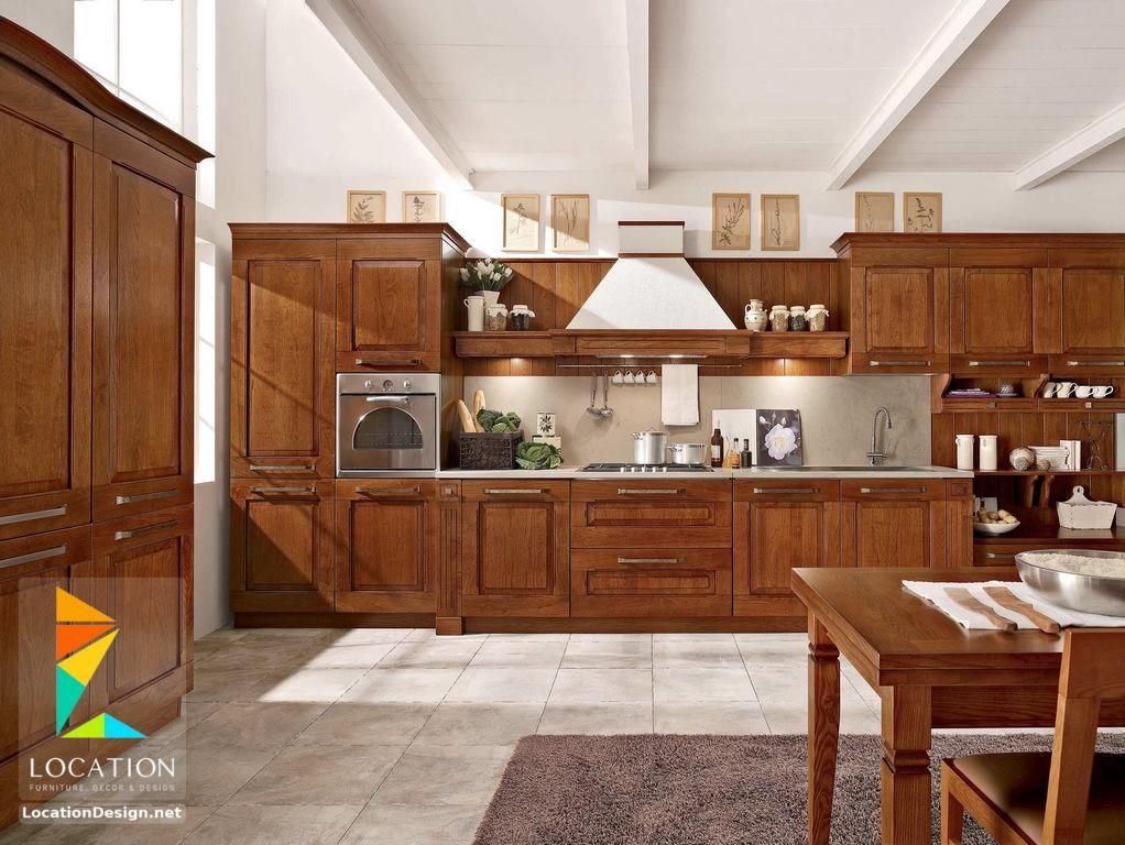 أشكال مطابخ خشبية بتصميمات عصرية دهانات مطابخ خشب 2017 2018 Home Decor Kitchen Kitchen Cabinets