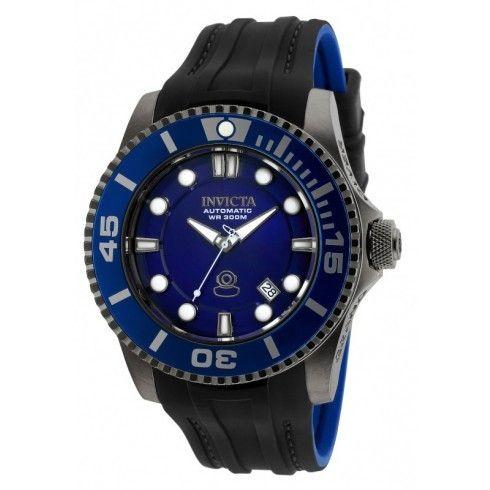Invicta Men's Pro Diver Automatic 3 Hand Blue Dial Watch 20204