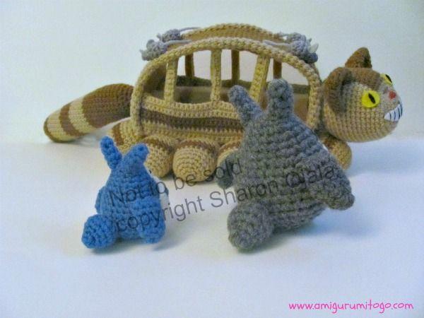 Amigurumi Totoro : Amigurumi to go blue totoro free crochet pattern diy craftsy