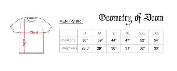 GOBLIN Band Tour Tee Black Cotton Men/'s T-Shirt Size S to 3XL