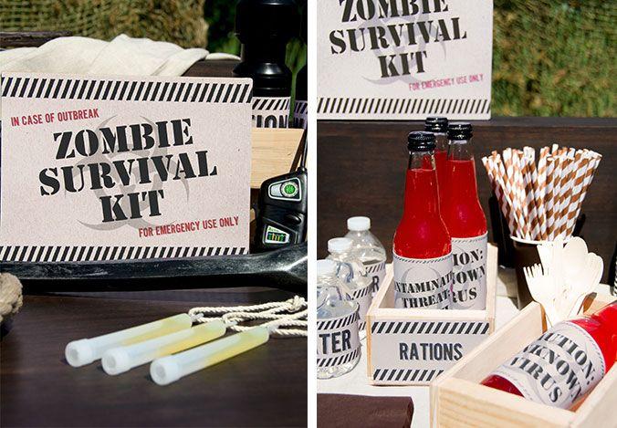 zombie apocalypse halloween party theme - Zombie Party Supplies