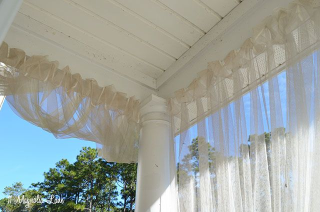 screened porch sheer curtains. \ Screened Porch Sheer Curtains F