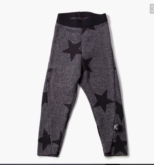 nununu french terry leggings for big kids