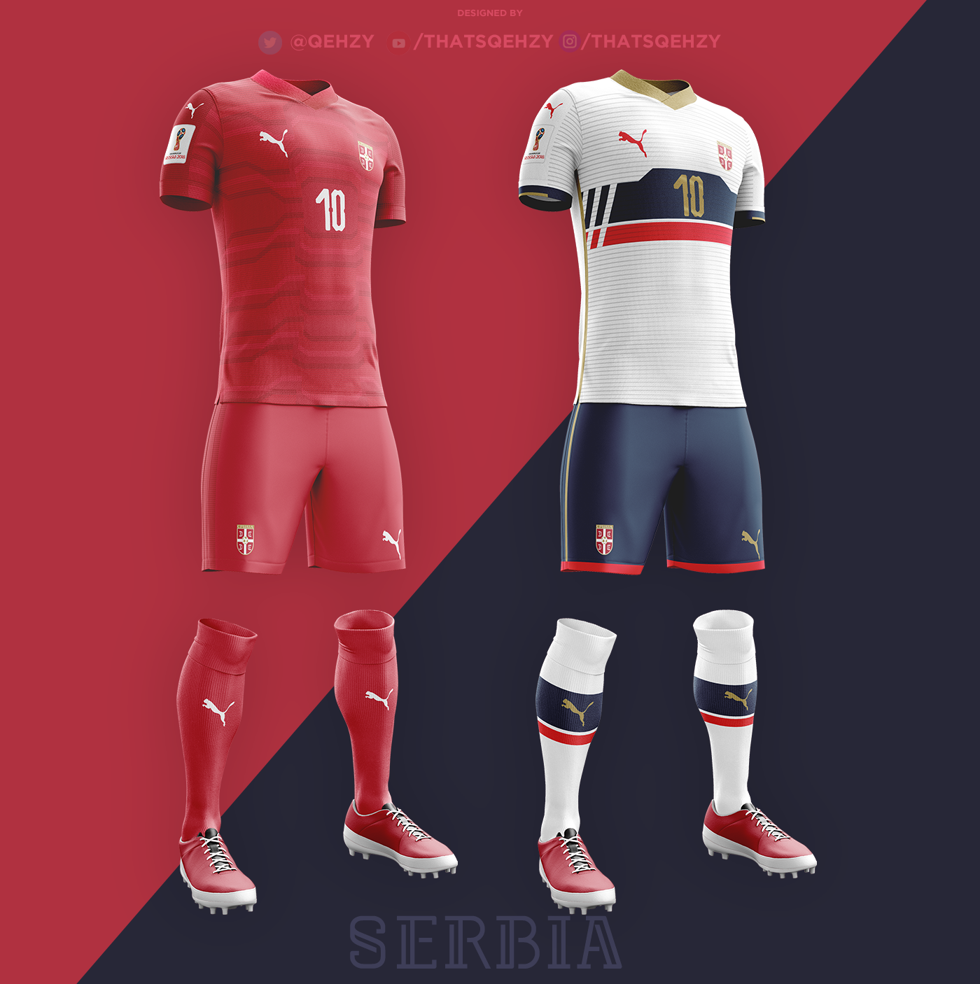 Fifa World Cup 2018 Kits Redesigned On Behance In 2020 Fifa World Cup Sport T Shirt Fifa