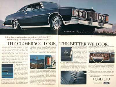 1974 Ford LTD Brougham Two Door Hardtop
