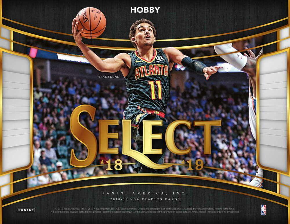 201819 panini select basketball hobby box presale 3619