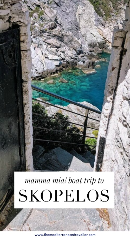 Mamma Mia Boat Trip A Tour Of Filming Locations On Skopelos The Best Mammia Mia Locations Are On The Greek Island Of Skopelo Boat Trips Island Travel Trip
