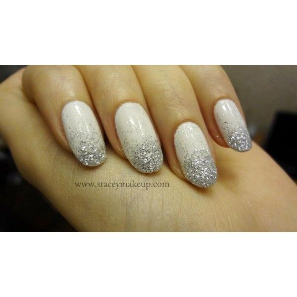 Prom Beauty 15 Prettiest Nail Art for Your Big Night! ❤ liked on Polyvore featuring nails