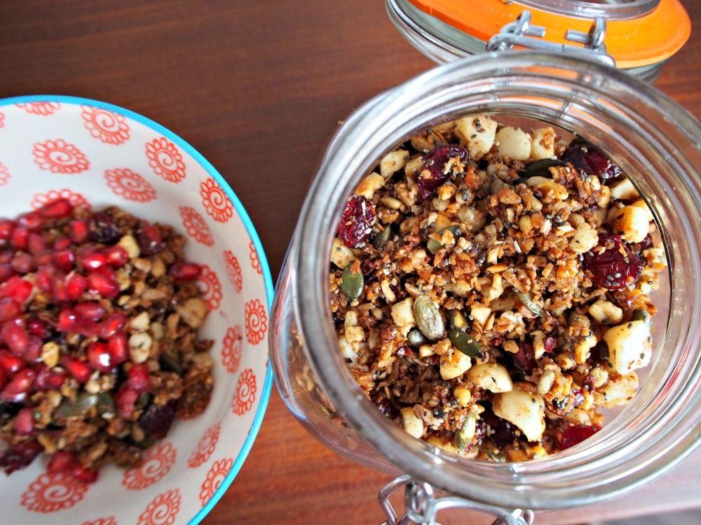 Gluten free grain free granola paleo grain free