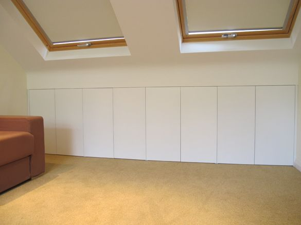 Under Eaves Storage Google Search Attic Renovation Eaves