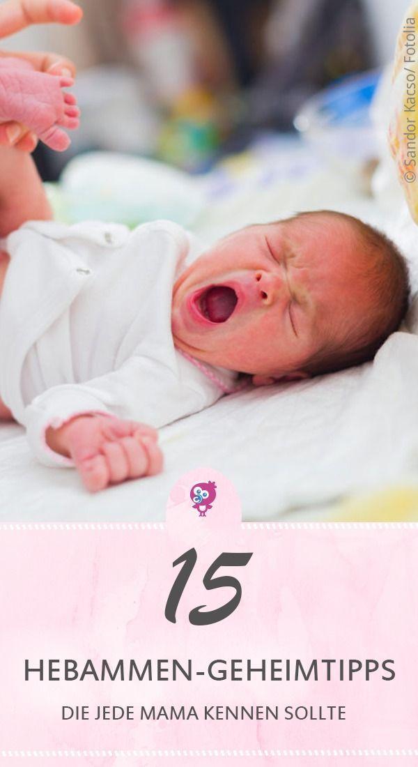 Hebammen-Geheimtipps, die jede Mama kennen sollte | Babyartikel.de