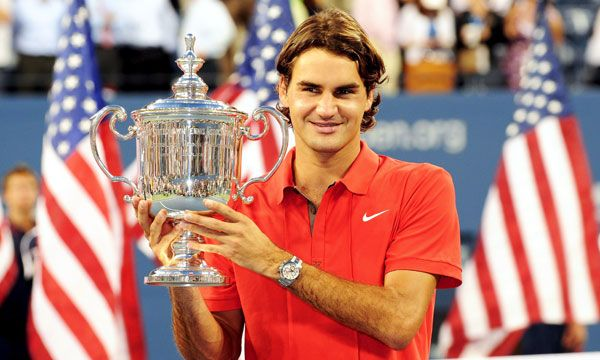 13th Grand Slam Us Open 2008 Roger Federer Tennis Players Rogers