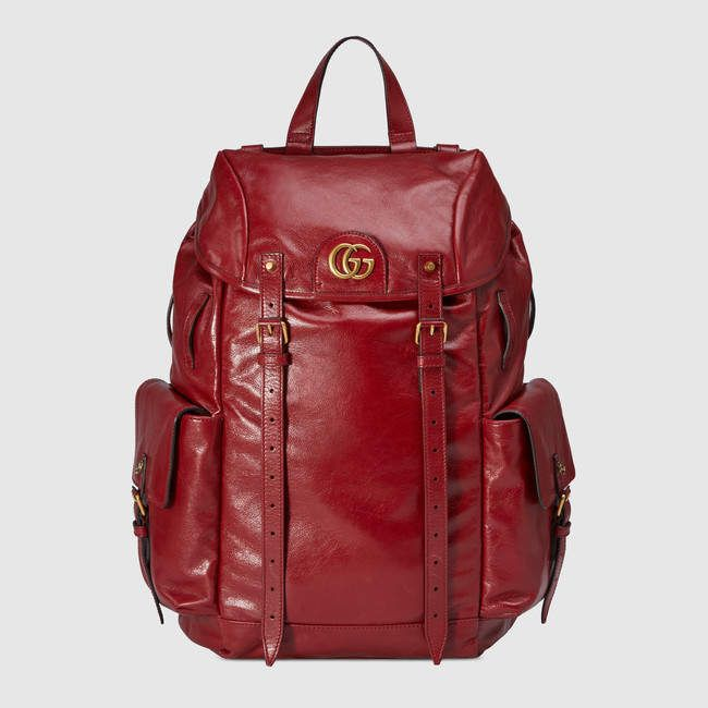 3c55b0c91de9 Gucci RE(BELLE) leather backpack in 2019 | Products | Gucci leather ...