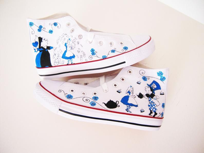Custom hand painted shoes series Tales Characters shoes