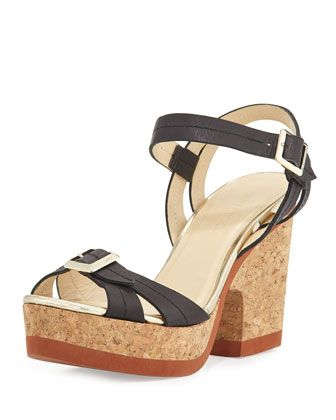 Jimmy Choo Nemesis Platform Sandals w/ Tags best seller sale online latest cheap price real for sale affordable online 9djTe5FPme