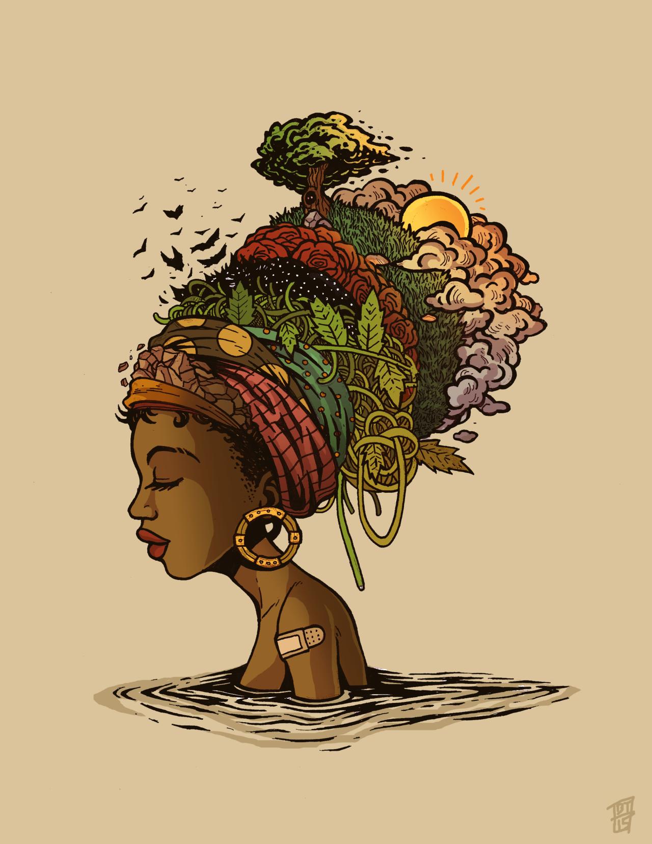 Nature Art En 2018 Africain