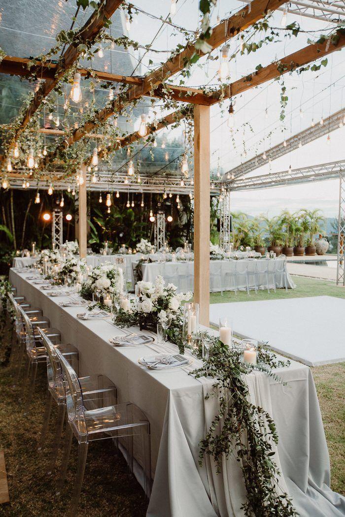 Oceanside Garten Hochzeit Mit Modernem Ambiente | Undbraut.com #weddingfall