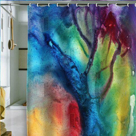 Trippy shower curtain | Apartment Shopping! | Pinterest | Design ...