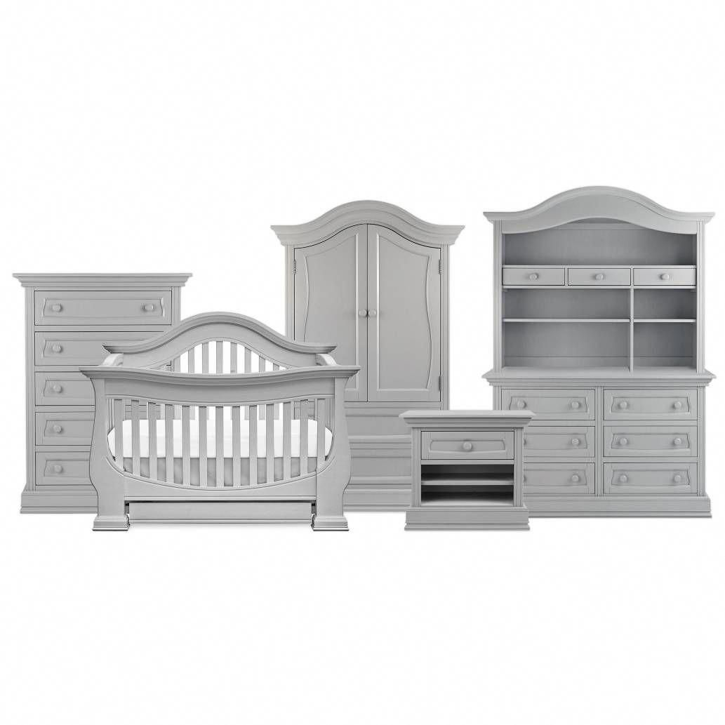 Product Image For Baby Leseed Davenport Nursery Furniture Collection In Moon Grey Babyfurnituresets