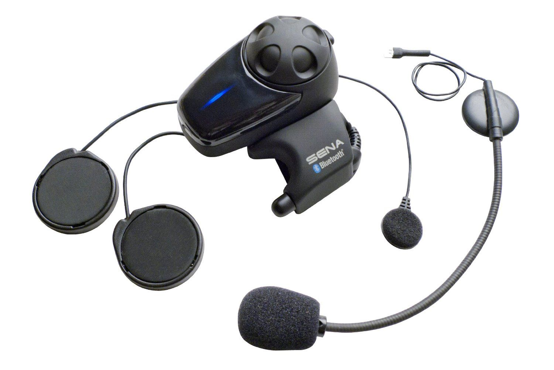 6460480be67 Amazon.com: Sena SMH10-11 Motorcycle Bluetooth Headset/Intercom with  Universal Microphone Kit: Automotive