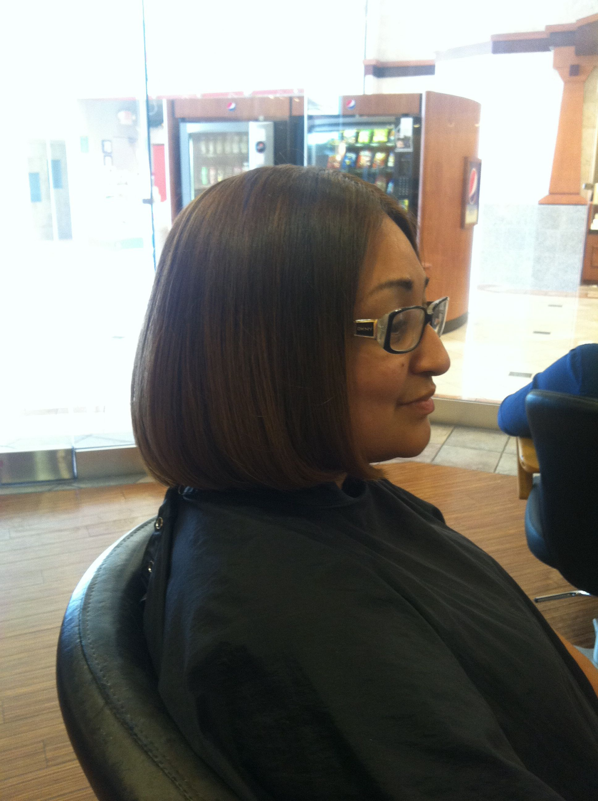 Undercut bob different angle by yours truly let me do your hair