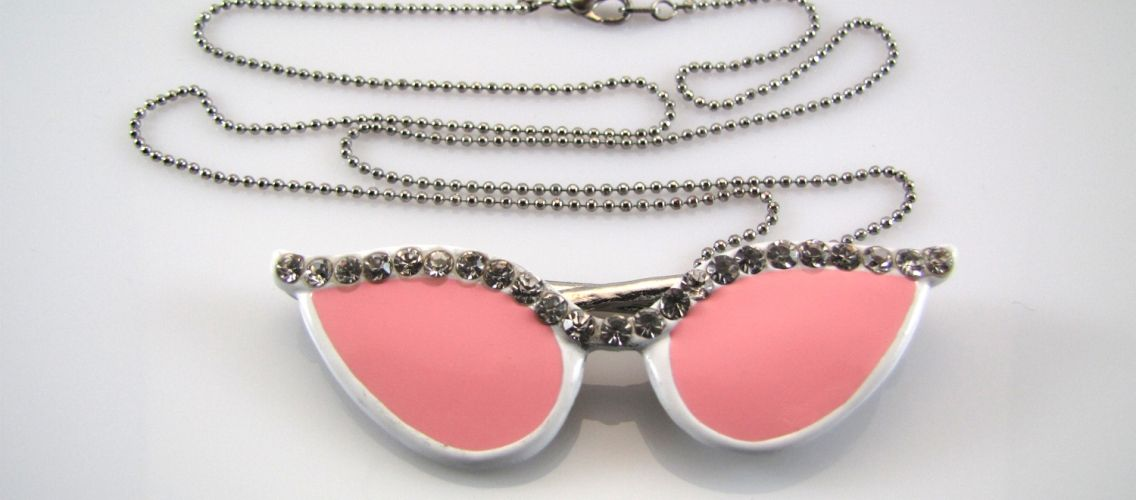 Funky glasses necklace!