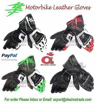 Suzuki Hayabusa Motorbike Leather Gloves Racing Gloves Motorcycle Gloves Motorcycle Gloves Motorbike Leathers Leather Gloves