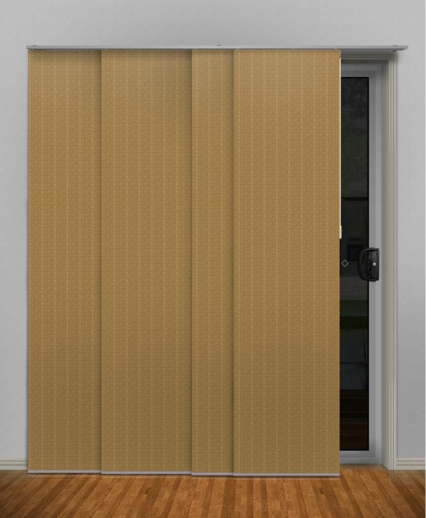 Bali Gold Plain (Light Filtering)  Panel Glide #panel #glides #blinds