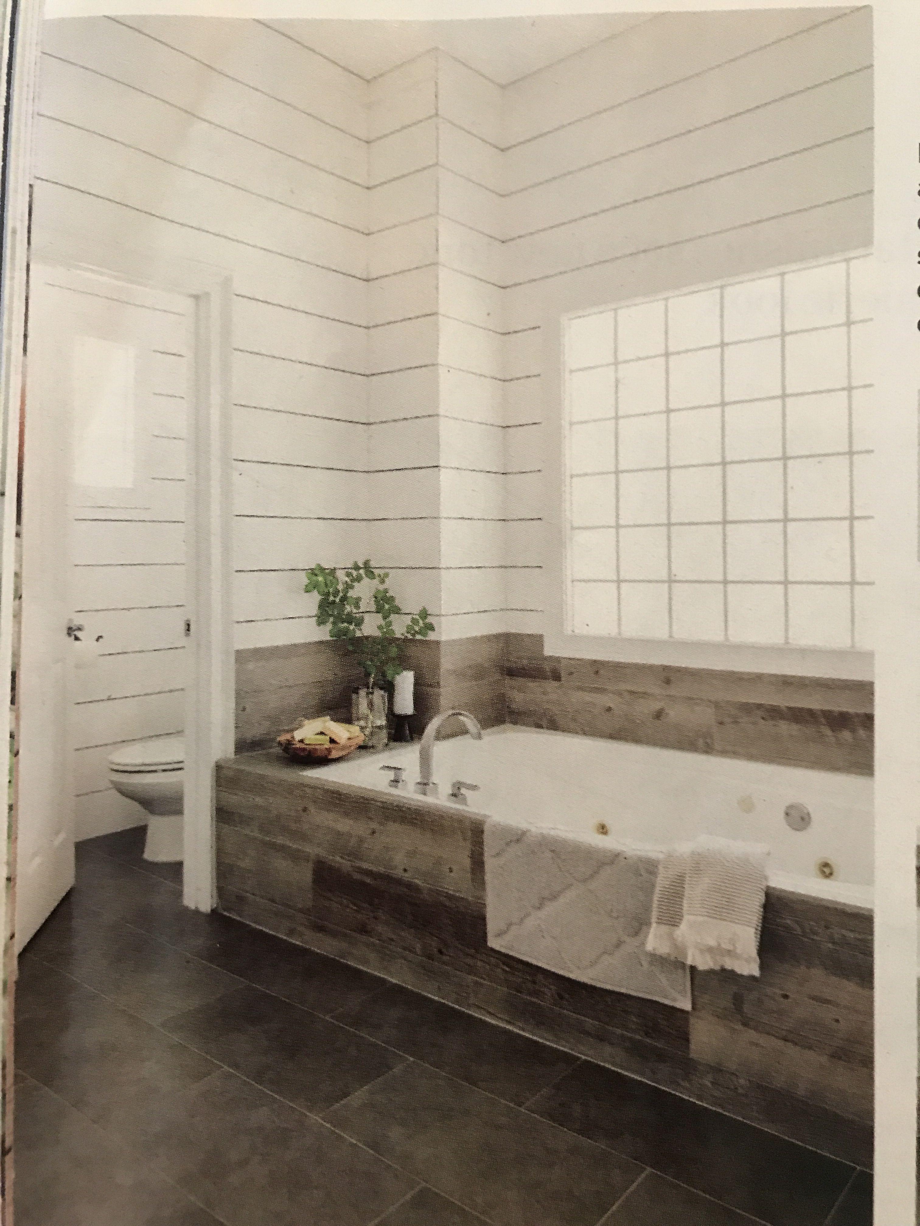 This Old House - tiled tub surround | Master bath | Pinterest