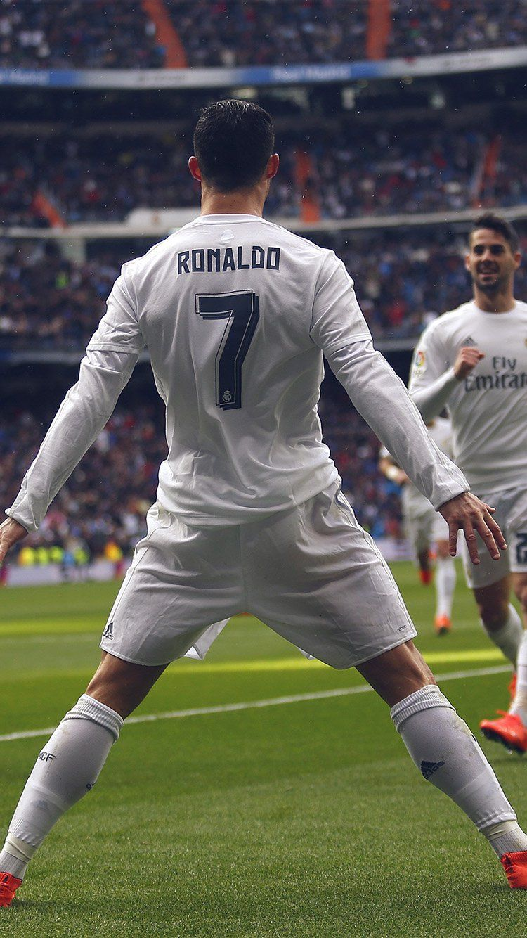 ronaldo number 7 realmadrid soccor wallpaper hd iphone | damascus