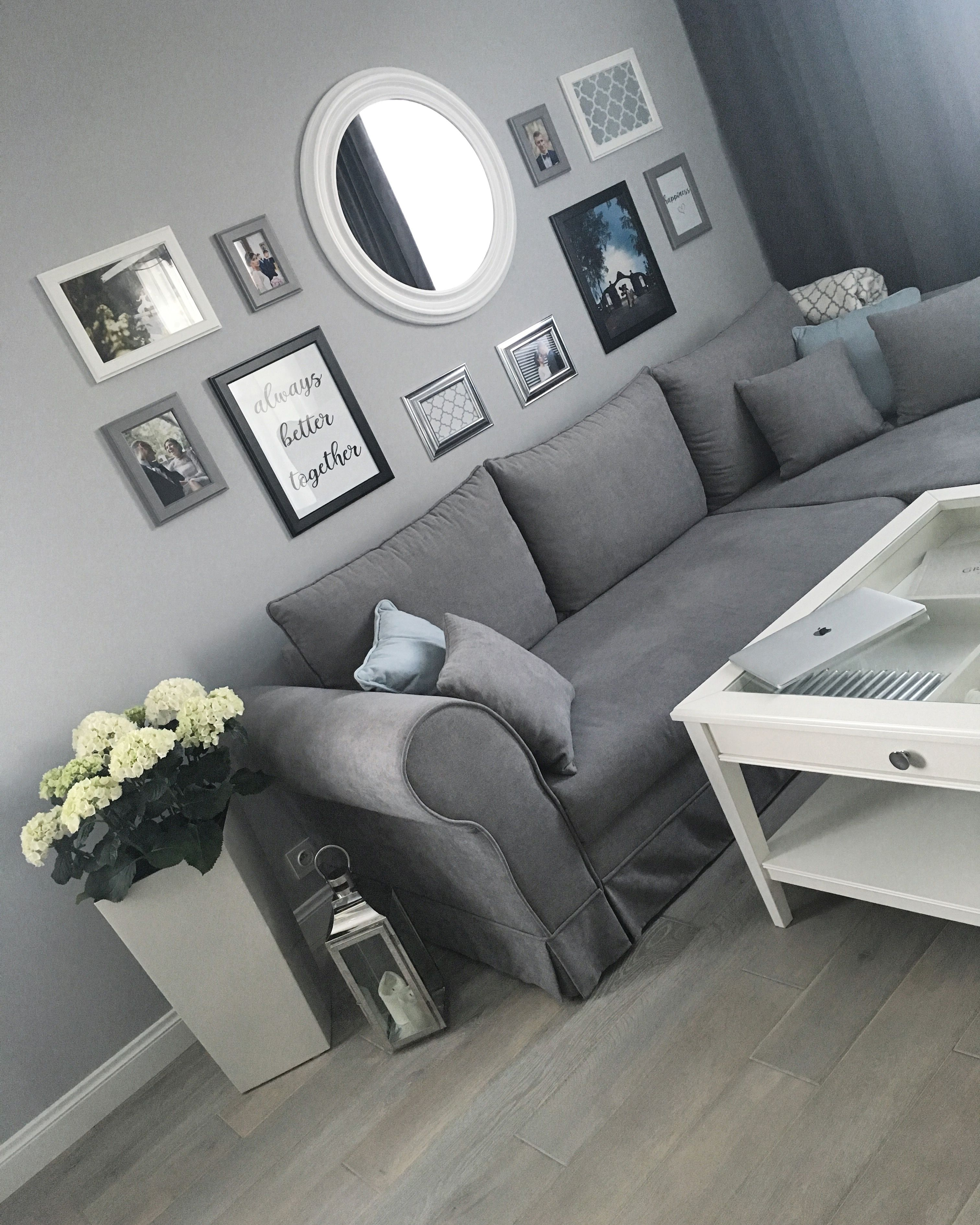 Deko Liatorp Ikea Couchtisch Home Decor In 2019 Living Room Hamptons Living Room With Ikea Liatorp Table And Wall Frames