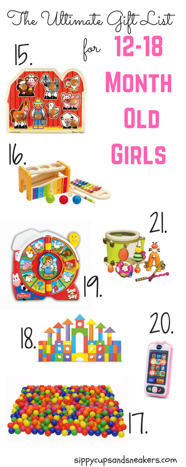The Ultimate Gift List For 12 18 Month Old Girls Gift